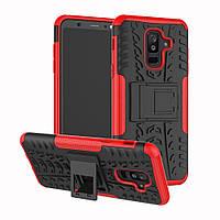 Чехол Armor Case для Samsung A605 Galaxy A6 Plus 2018 Красный