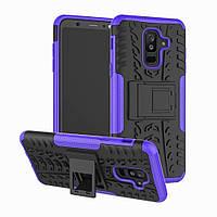 Чехол Armor Case для Samsung A605 Galaxy A6 Plus 2018 Фиолетовый