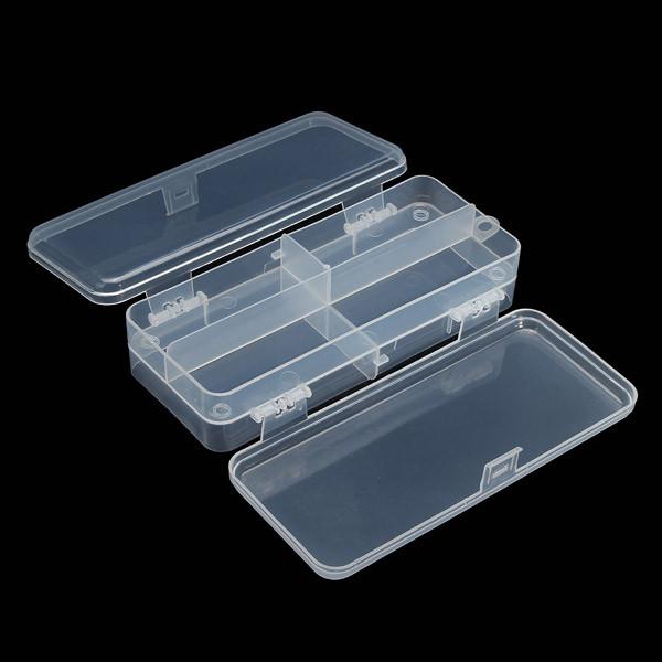Многофункциональный прозрачный пластик рыболовные снасти ящик для рыбалки приманки крючки для хранения - 1TopShop