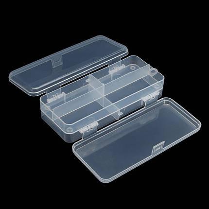 Многофункциональный прозрачный пластик рыболовные снасти ящик для рыбалки приманки крючки для хранения - 1TopShop, фото 2