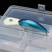 Многофункциональный прозрачный пластик рыболовные снасти ящик для рыбалки приманки крючки для хранения - 1TopShop, фото 3