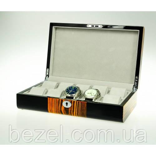 Шкатулка для хранения часов Salvadore 805-10ZSBG WD