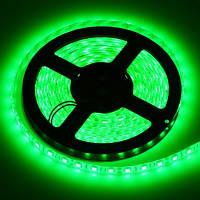 Светодиодная лента SMD 5050 60 LED/m IP20 зеленая, фото 1