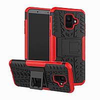 Чехол Armor Case для Samsung A600 Galaxy A6 2018 Красный