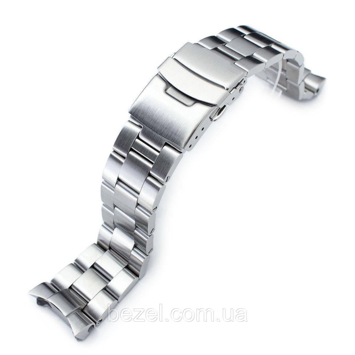 22mm Super 3D Oyster Solid Link 316L Stainless Steel Bracelet for Seiko SKX007 Diver