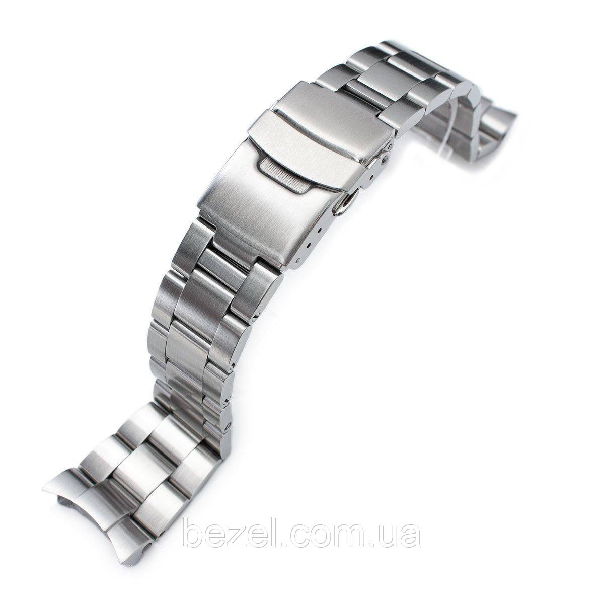 22mm Super 3D Oyster watch band for SEIKO Diver SKX007/009/011 Curved End