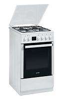 Газовая плита Gorenje CC 500 W (60 см,электрическая духовка, белый)