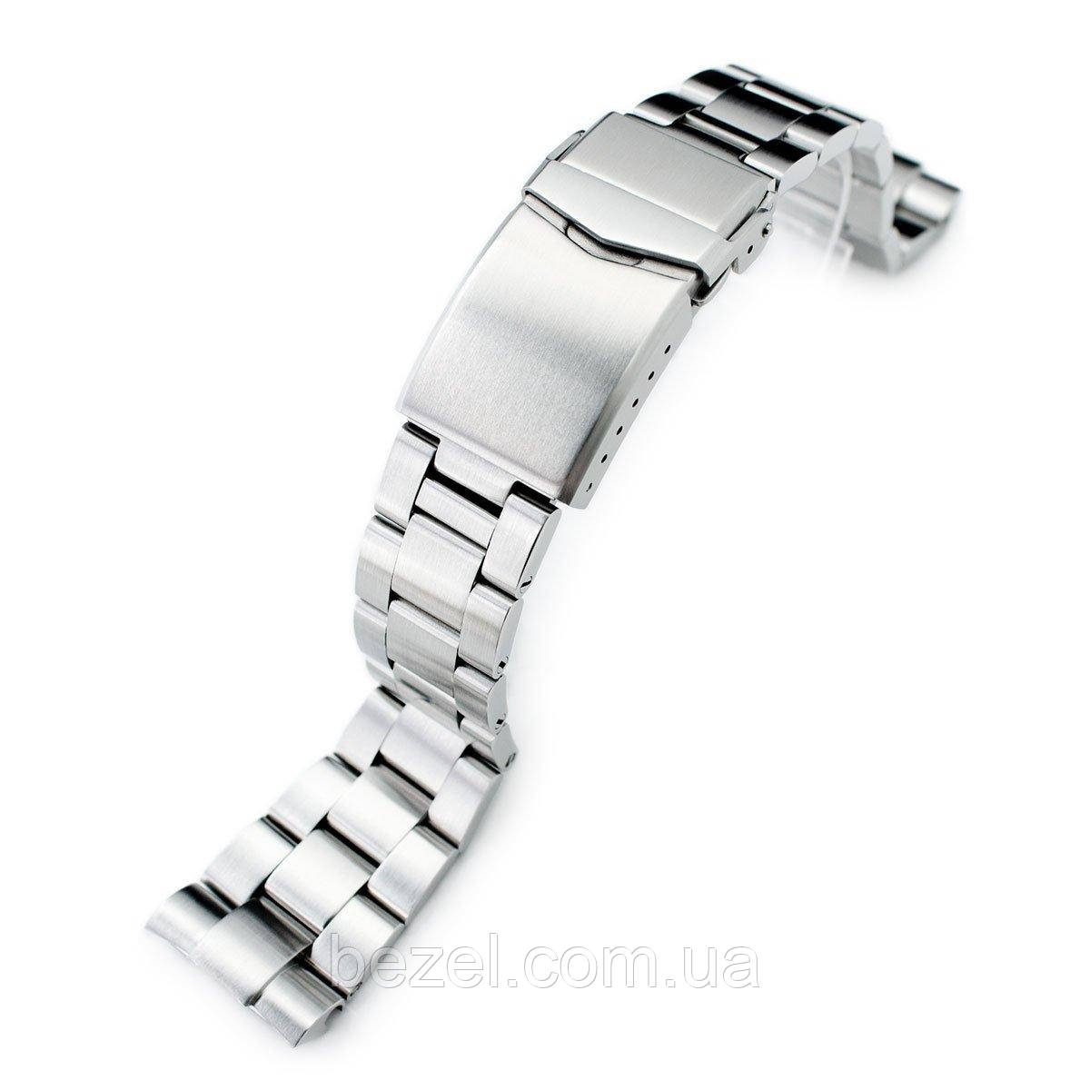 22mm Super 3D Oyster 316L Stainless Steel Watch Bracelet for Seiko New Turtles SRP777, V-Clasp Brushed