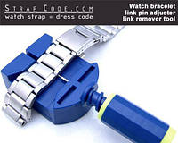 Watch bracelet link pin adjuster, link remover tool, фото 1