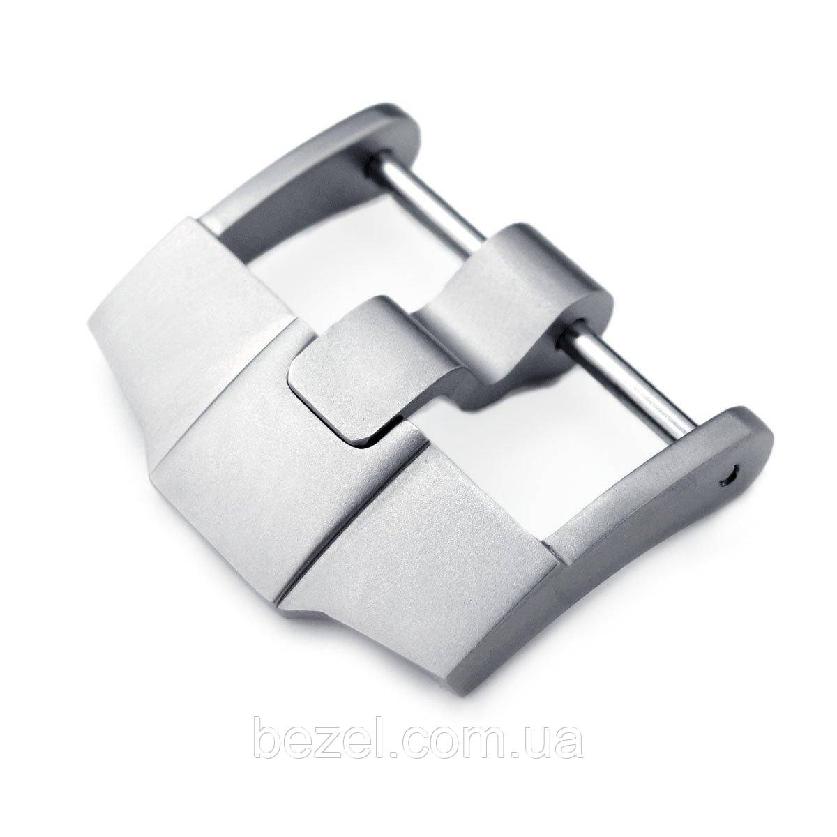 24mm High Quality 316L Stainless Steel Screw-in 6mm Tongue Sandblasted Buckle, designed for Audemars Piguet