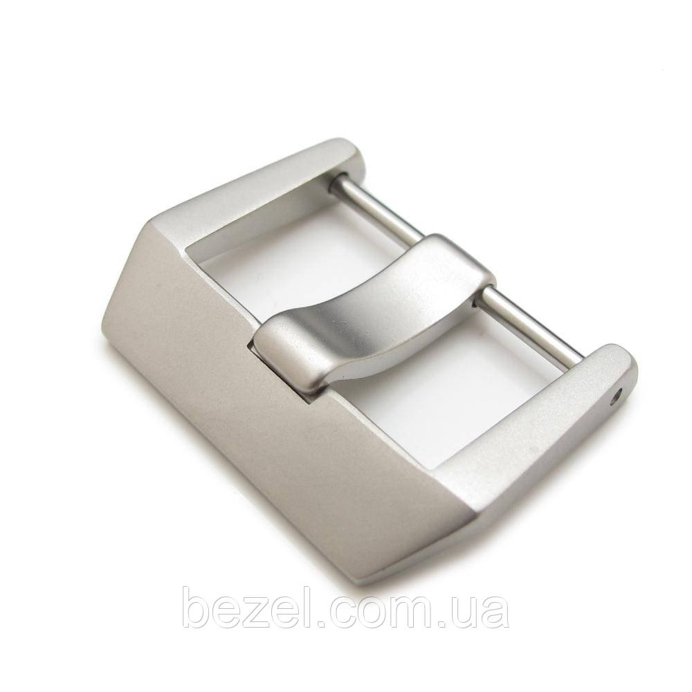 24mm or 26mm Sandblasted 316L Stainless Steel Screw type 6mm Tongue Buckle for Bell&Ross BR01 BR03 watchband