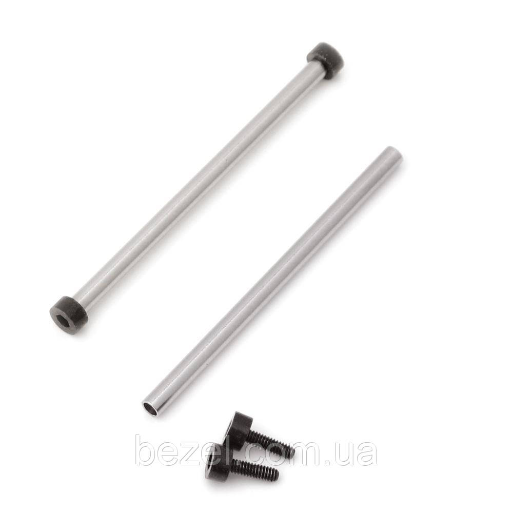 Tubes and PVD Black Hex Head Screws for Bell & Ross BR-01 (one pair)