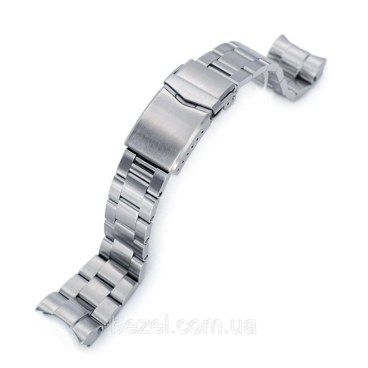 22mm Super 3D Oyster 316L Stainless Steel Watch Bracelet for Tudor Black Bay, V-Clasp Brushed