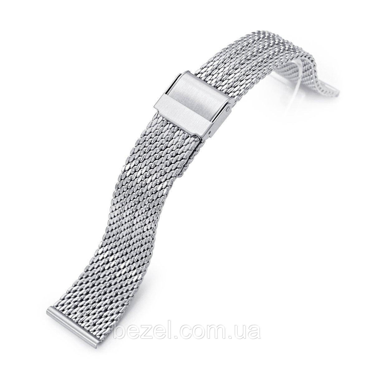 20mm Milanese Bony Wire Mesh Band, Brushed