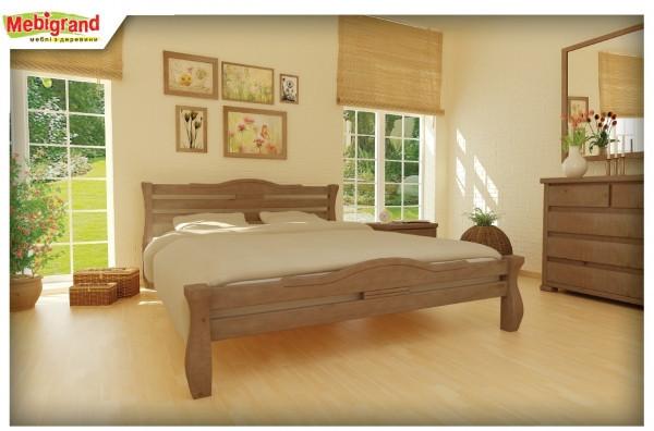 Ліжко з натурального дерева Монако