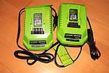 Greenworks 40V G Max зарядное устройство 29482 ( G40UC ), фото 2