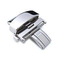 22mm, 24mm Stainless Steel Double Deployment Buckle / Clasp, фото 1