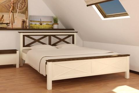 Кровать из натурального дерева Прованс