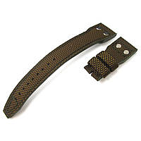 22mm MiLTAT Green Honeycomb Nylon IWC Big Pilot replacement Rivet Strap, фото 1