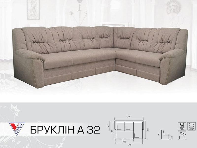 Угловой диван Бруклин А 32