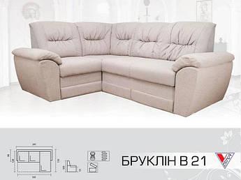 Угловой диван Бруклин В 21
