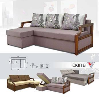 Угловой диван Скіл В
