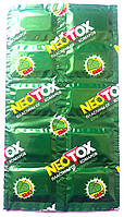 Таблетки пластины от комаров Неотокс neotox, гипоалергенный без запаха 10 шт.