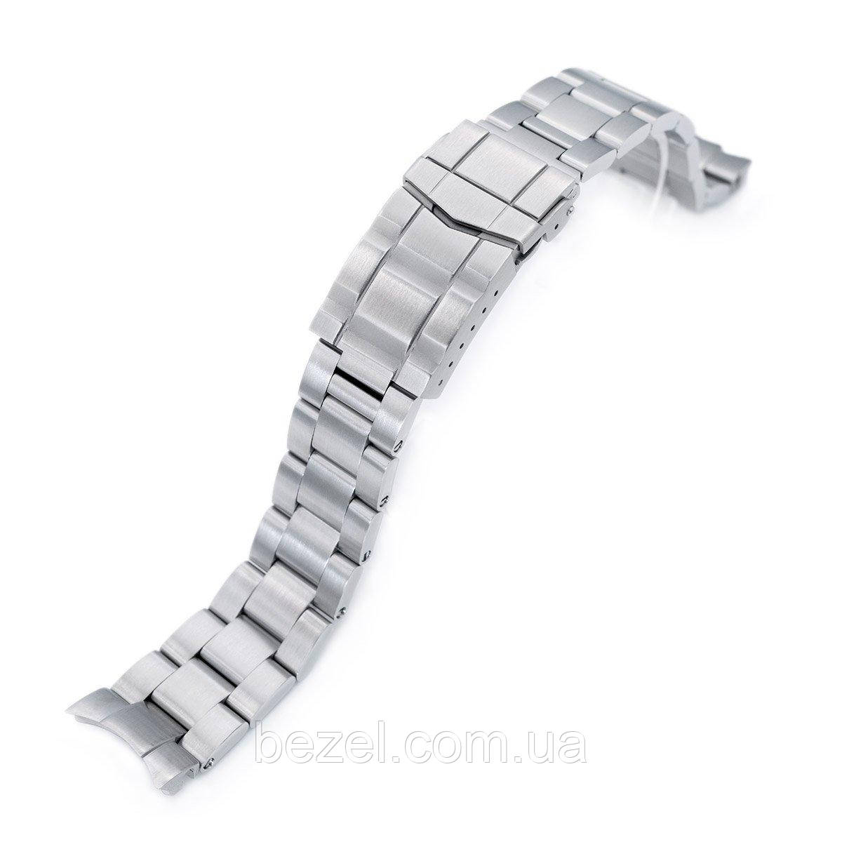 20mm Super 3D Oyster 316L Stainless Steel Watch Bracelet for Seiko Mechanical Automatic SARB033, Submariner Clasp, Brushed