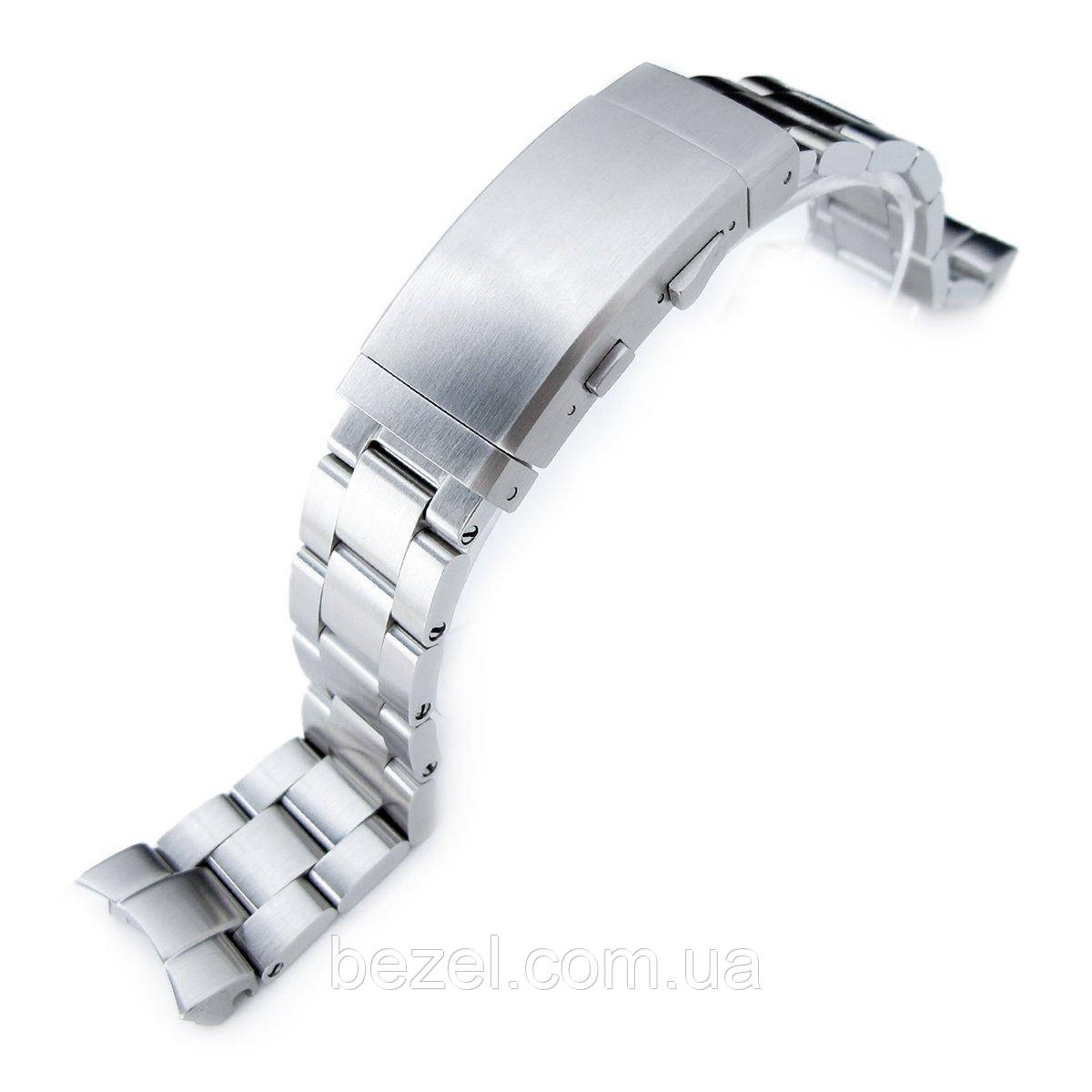 20mm Super Oyster 316L Stainless Steel Watch Band for Seiko SKX013, Wetsuit Ratchet Buckle