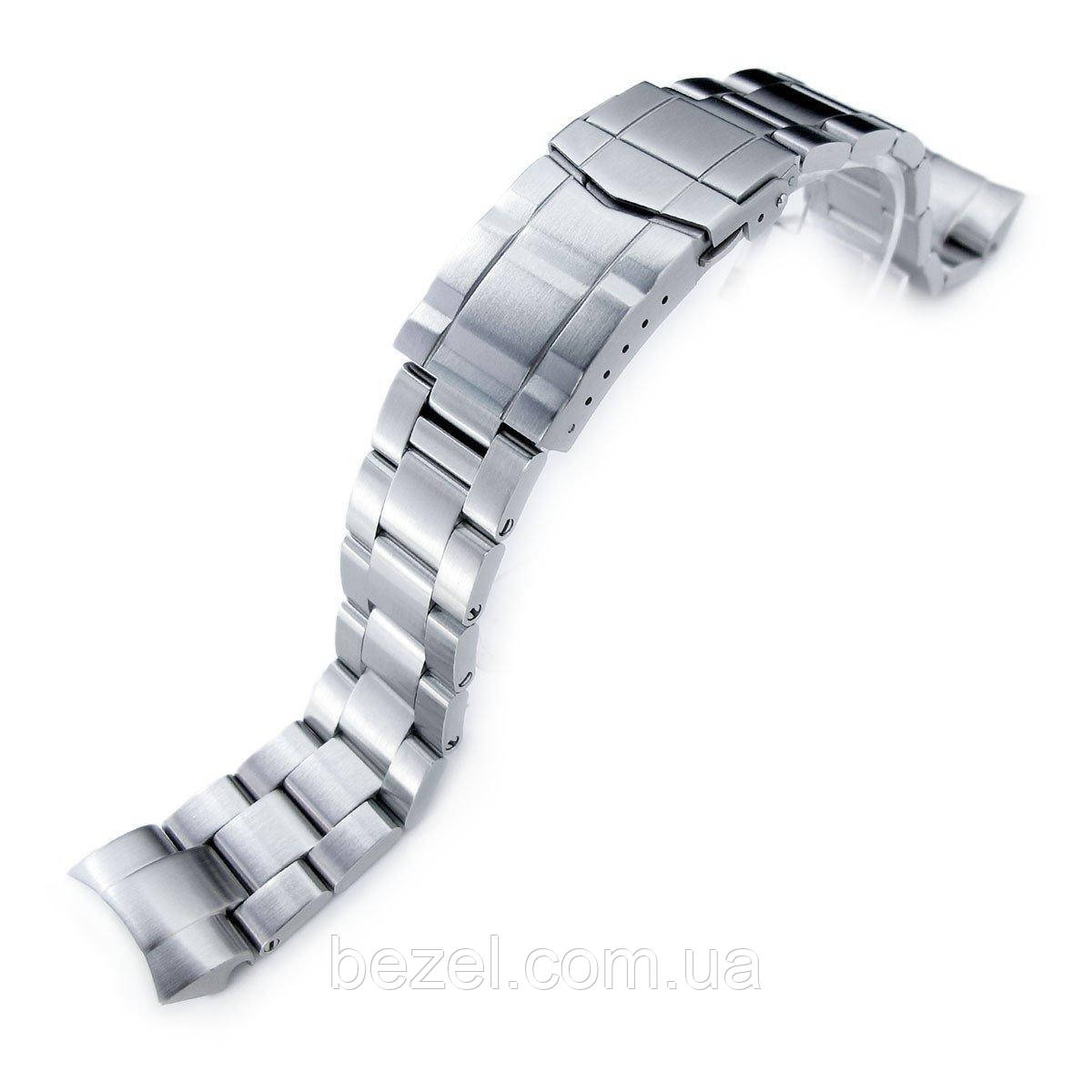 20mm Super Oyster Watch Band for Seiko Solar Power SSC015, 316L SS Submariner Clasp
