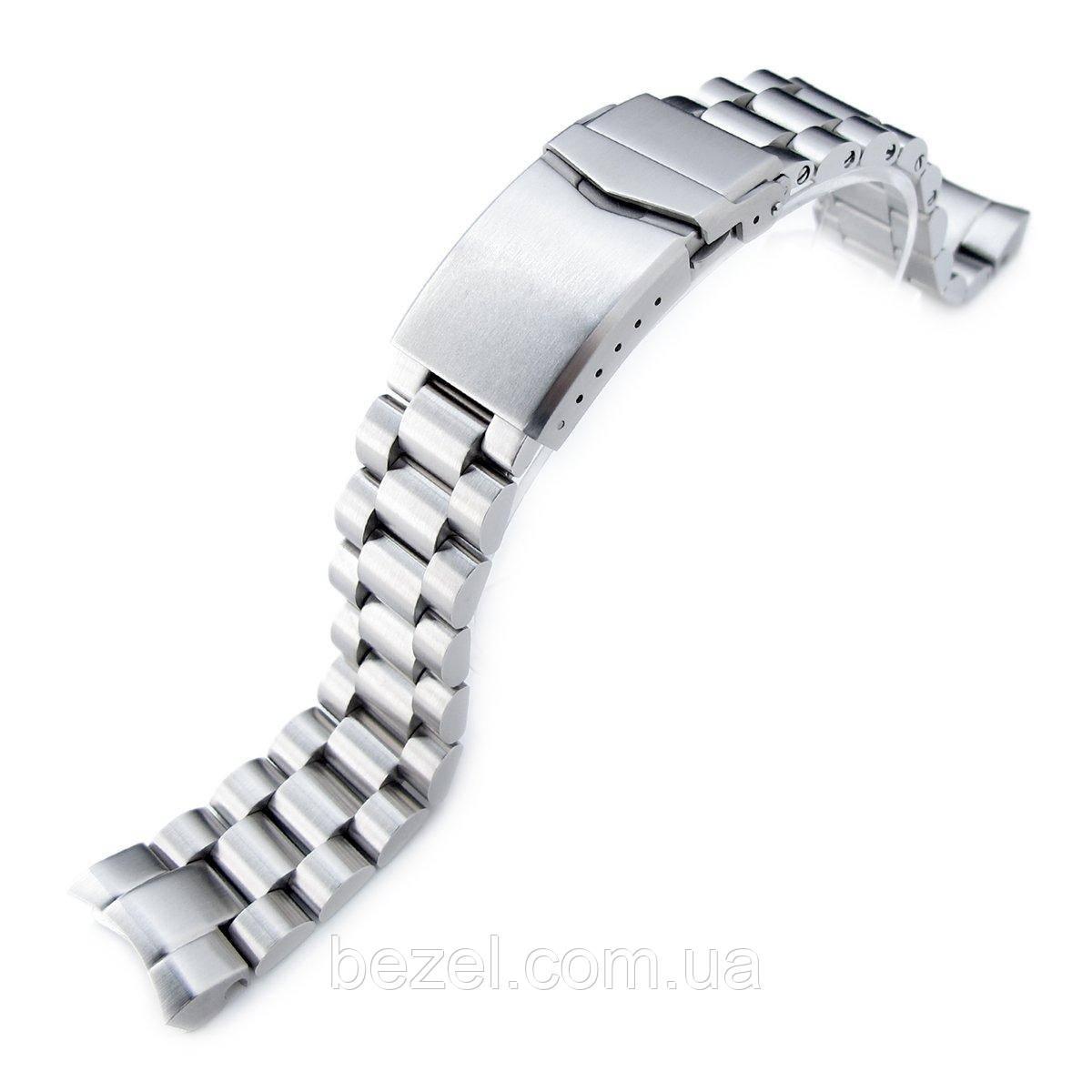 20mm Endmill watch band for SEIKO Sumo SBDC001, SBDC003, SBDC005, SBDC031, SBDC033, V-Clasp