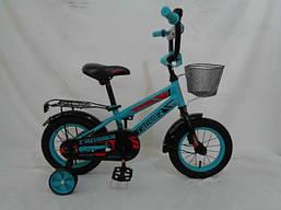 Детский двухколесный велосипед 12дюймов ROCKY CROSSER-13