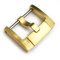 18mm, 20mm, 22mm Top Quality Stainless Steel 316L Screw-in Buckle IWC Style, IP Gold, фото 1