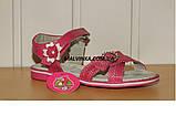 Босоножки на девочку 31-36 р розовые арт 1030 Alemy, фото 2