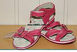 Босоножки на девочку 31-36 р розовые арт 1030 Alemy, фото 5