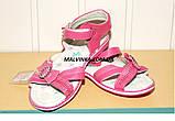 Босоножки на девочку 31-36 р розовые арт 1030 Alemy, фото 6