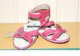 Босоножки на девочку 31-36 р розовые арт 1030 Alemy, фото 8