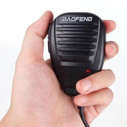 BAOFENG Handheld Микрофон Динамик с индикатором Light для BF-888S UV5R Радио Walkie Talkie - 1TopShop, фото 2