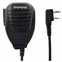 BAOFENG Handheld Микрофон Динамик с индикатором Light для BF-888S UV5R Радио Walkie Talkie - 1TopShop, фото 3
