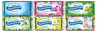 Влажные салфетки 15шт Super Fresh 6 видов