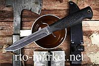 Нож Финский(финка), охотничий, военный, черный (Оригинал)