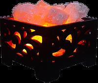Соляная лампа Корзина № 6, 4 кг, (18*18*13 см)