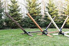Стійка для гамака дерев'яна WCG Каркас для Гамака, фото 2