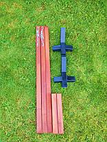 Гамаки на дерев'яному каркасі,гамак зі стійкою,гамак XL 200х100, фото 2
