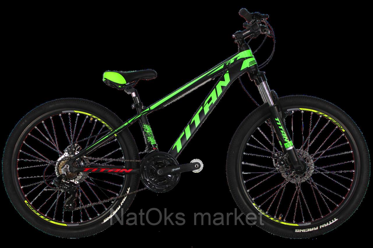 """Велосипед Titan GT 26"""" (Black-Green)"""