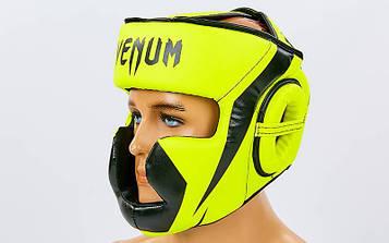 Шлем боксерский с полной защитой PU VNM CHALLENGER (р-р S-L)