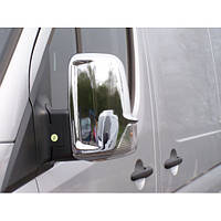 Mercedes Sprinter W906/Volkswagen Crafter (2006-) Накладки на зеркала (пластик) 2шт Код:707208773