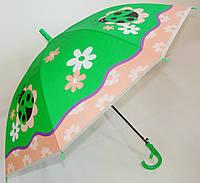 Зонт детский трость со свистком Божьи коровки 13712-1311