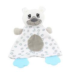 Мягкая игрушка с прорезывателем Медвежонок Dolery