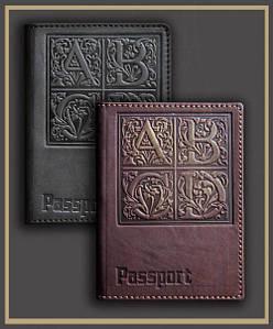 Оригинальный и неповторимый авторский дизайн кожаных обложек для паспорта